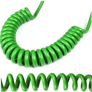 spiralinis įkrovimo laidas Type 2 - Type 2 -  ( 32A, 1 Fazė, 6,6 KW ) 5